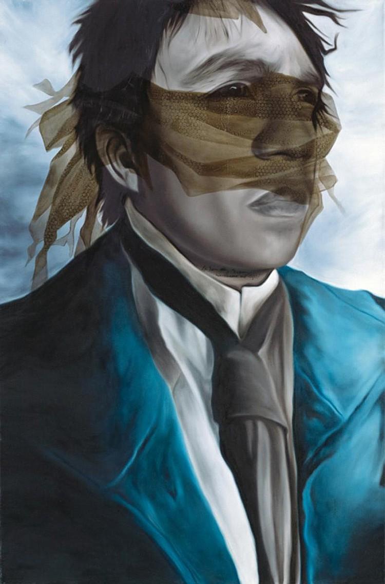 LIV VINLUAN (b. 1987) ALL THAT HEAVEN PERMITS, 2008, Oil on canvas