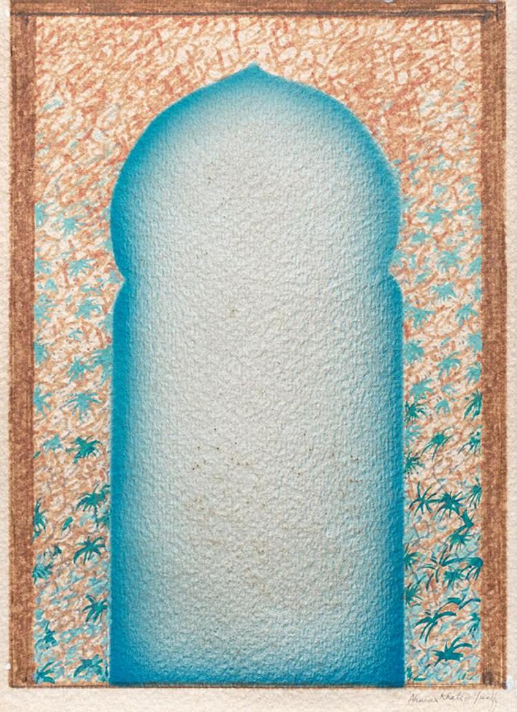 AHMAD KHALID YUSOF (b. 1934 - d. 1997) UNTITLED, undated, Mixed media on paper