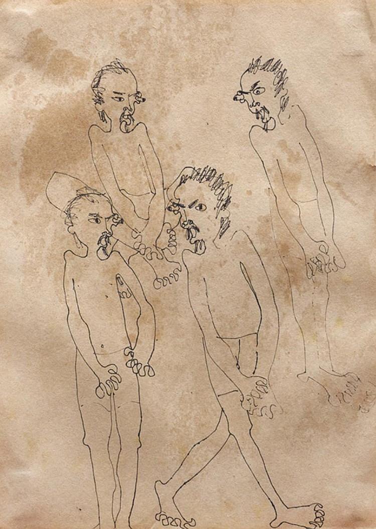 ZULKIFLI DAHLAN (b. 1952 - d. 1977) UNTITLED, c. 1970s, Ink on paper