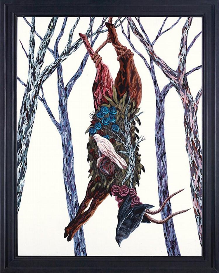 JUSTIN LIM (b. 1983) ANTELOPE, 2013, Acrylic on canvas