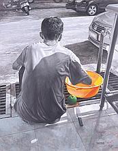 TEOH TECK BOO (b. 1961) LOFTY APPLE, 2010, Acrylic on canvas