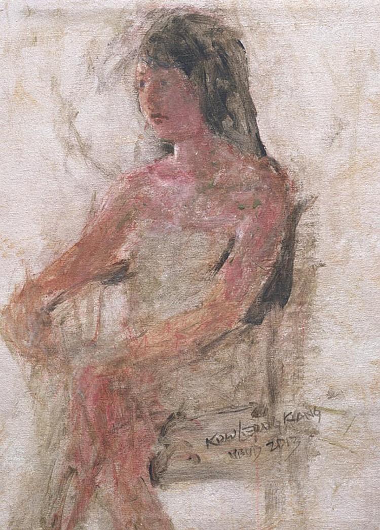 KOW LEONG KIANG (b. 1970) ANGGIY I, 2013, Acrylic on canvas