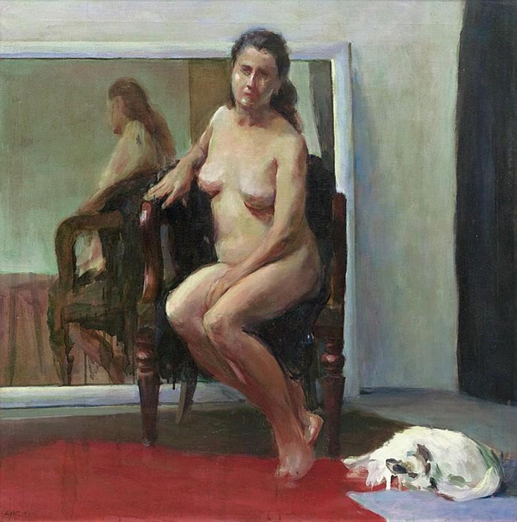 YEO ENG HIN (b. 1956) NUDE, 1983, Oil on canvas