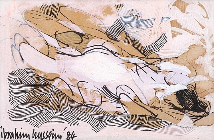 IBRAHIM HUSSEIN, DATUK (b. 1936 - d. 2009) DREAMING, 1984, Acrylic on paper