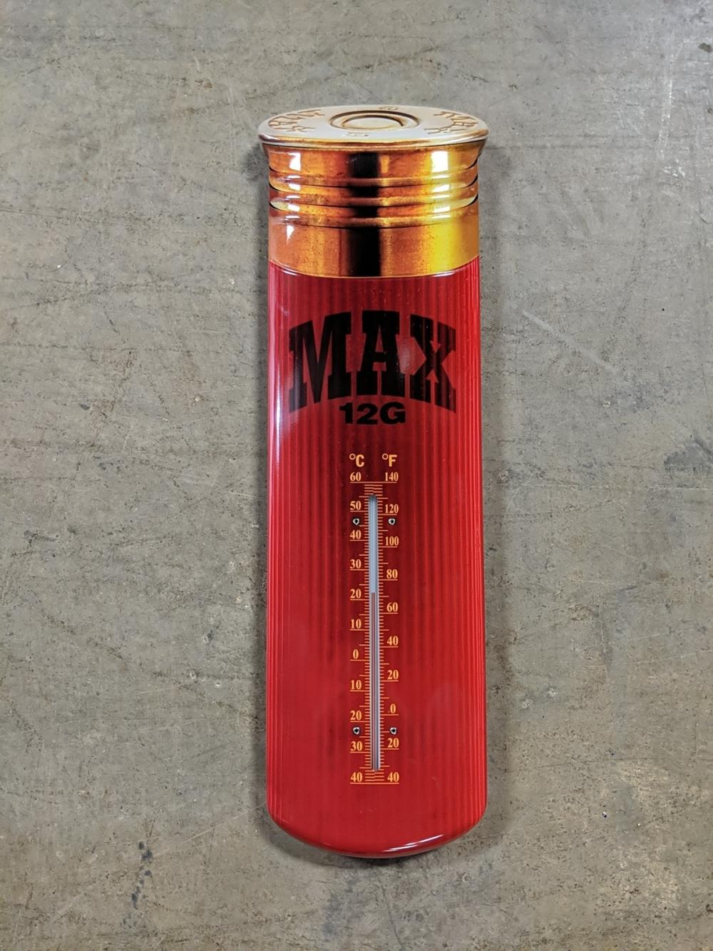 Max 12 guage shell thermometer