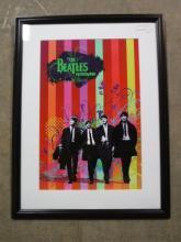 Framed The Beatles Rockband Giclee print