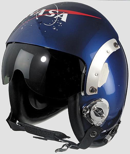 A flight helmet US NASA HGU-26/P