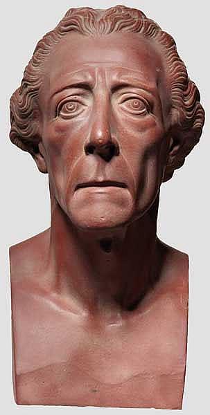 PREUSSEN HERRSCHERHAUS HOHENZOLLERN - Friedrich der Große - Portraitbüste.