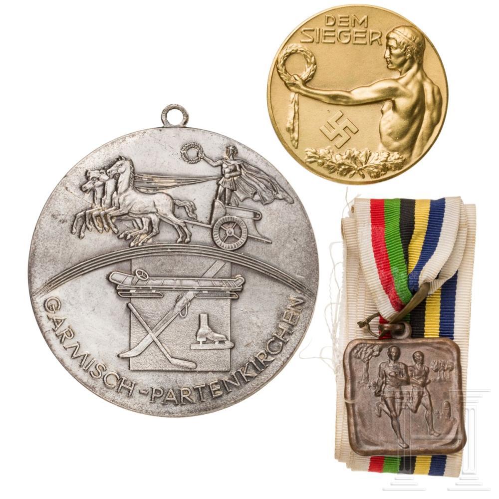 Sold Price Die Olympischen Spiele 1936 In Berlin Und Garmisch Partenkirchen Verschiedene Objekte June 5 0120 10 00 Am Cest