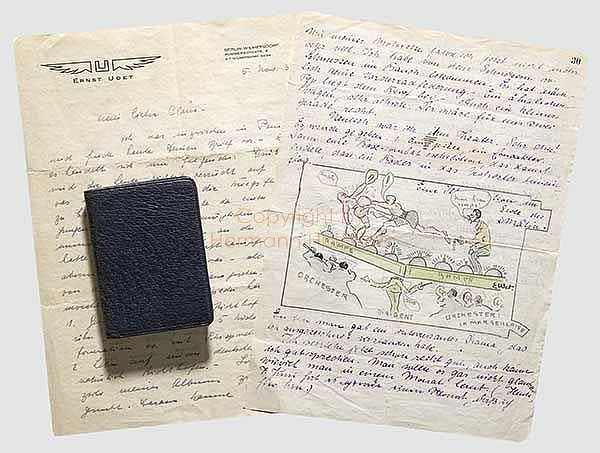 FLIEGERTRUPPE: Ernst Udet (1896 - 1941), zweiterfolgreichster, deutscher Jagdpilot