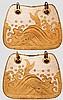 A pair of aori (saddle flaps), late Edo period