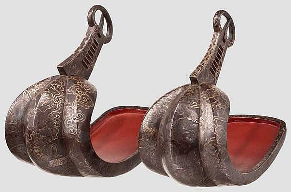 A pair of abumi, late Edo period
