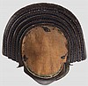 A five-plate ke kabuto, 1st half of Edo period