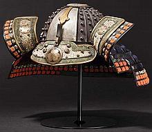 A 24-plate hoshi kabuto, circa 1645