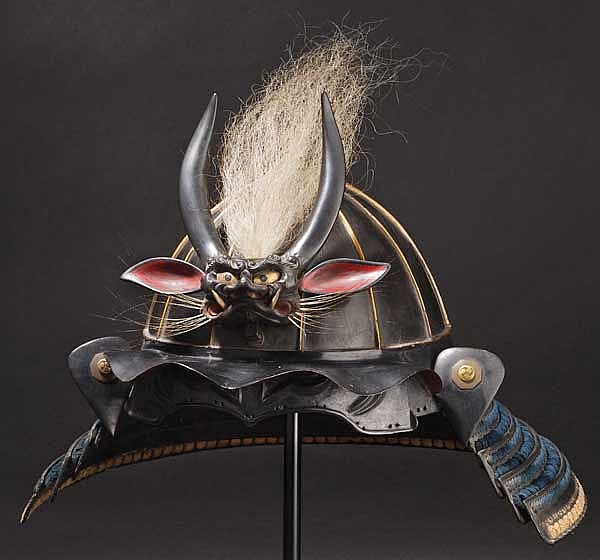 A twelve-plate toppai kabuto, early Edo period