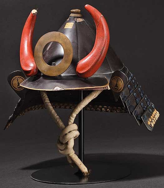 An eight-plate toppai kabuto, early Edo period