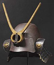 A five-plate hineno kabuto, 1st half of Edo period