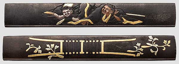 Two kozuka, 2nd half of Edo period