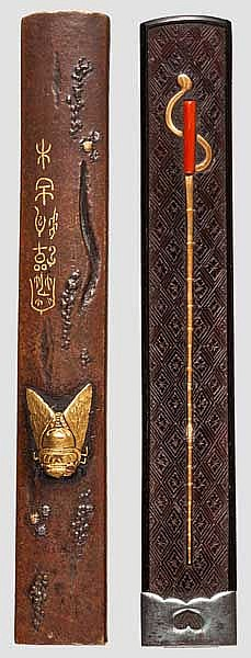 Two kozuka, late Edo period