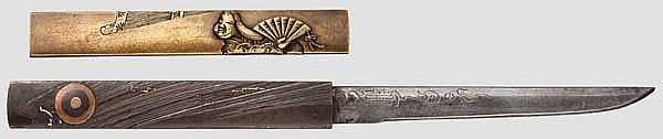 Two kozuka, 2nd half of Edo period