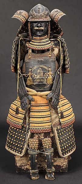 A ni mai yokohagi do gusoku, circa 1900