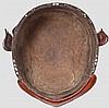 A five-plate harikake bachi, late Momoyama/early Edo period