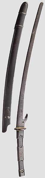 A hachiwari, late Edo period