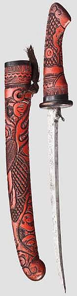 A hachiwari, mid Edo period