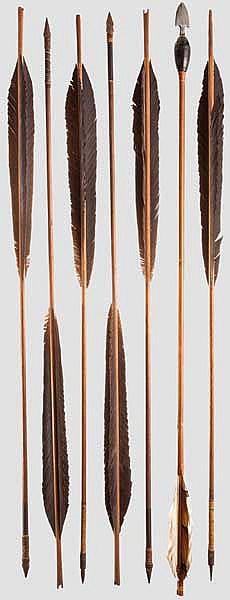 A signal arrow, 2nd half of Edo period