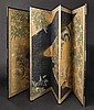 A byobu (folding screen), Meiji period