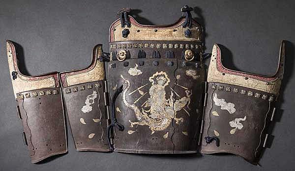 Breastplates of a tatehagi do, 2nd half of Edo period