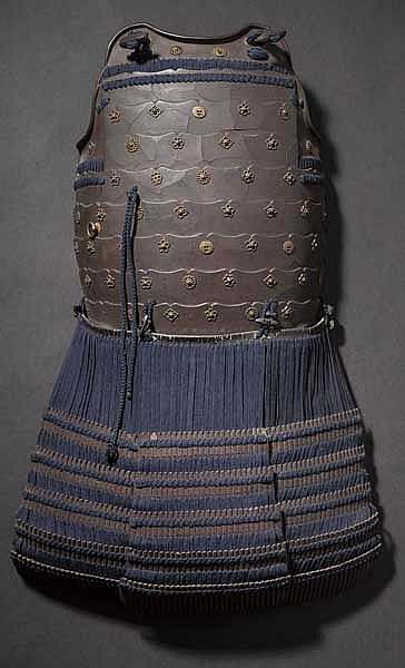 A breastplate of a tatehagi do, 2nd half of Edo period