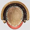 A six-plate zaboshi kabuto, mid Edo period