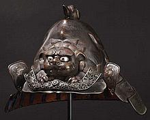 A four-plate uchidashi kabuto, 2nd half of Edo period