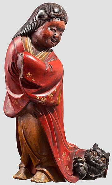 An okame, Meiji period