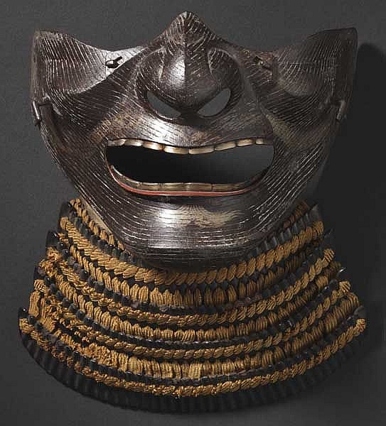 A Nara-type mempo, 2nd half of Edo period