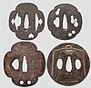 Four tsuba, Muromoachi period