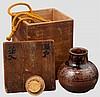 A chaire (tea powder jar), 2nd half of Edo period