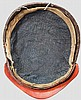 A four-plate zunari bachi, Momoyama period