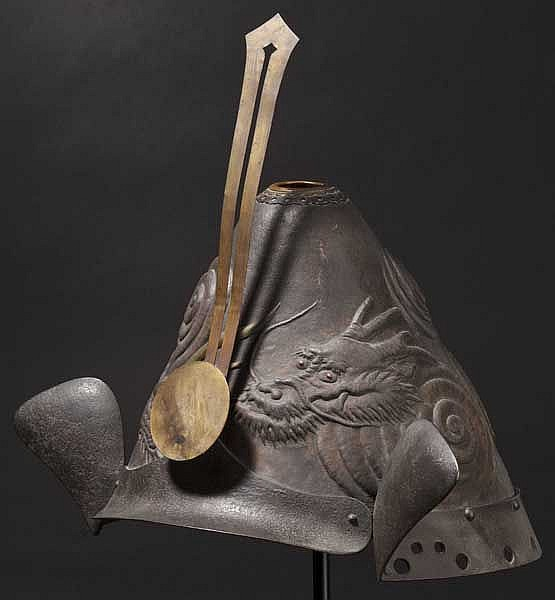 A firefighter's kabuto, late Edo period