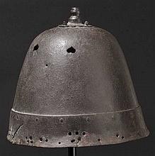A Korean helmet, Momoyama period