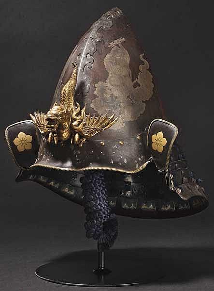 A six-plate toppai kabuto, late Edo period