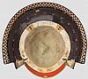 A 28-plate hoshi kabuto with mempo, late Edo period