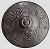 An iron jingasa, Meiji period