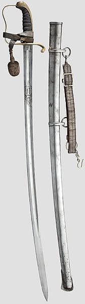 BAYERN - Säbel M 1855 für Offiziere