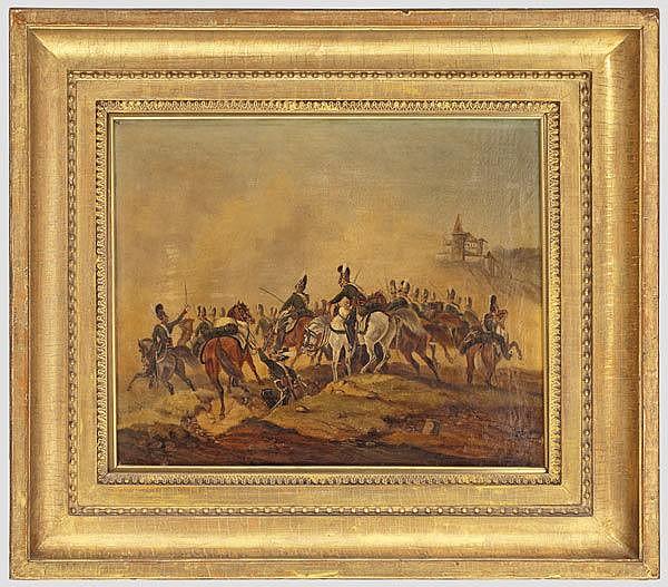 BAYERN - Bayerische Kavallerie im Gefecht