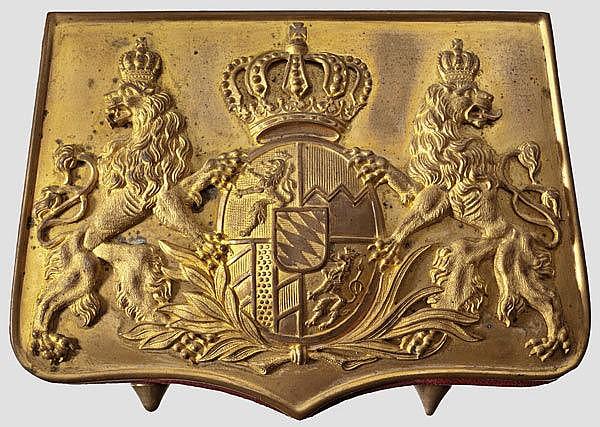 BAYERN - Kartuschkasten M 1886 für Offiziere der Artillerie