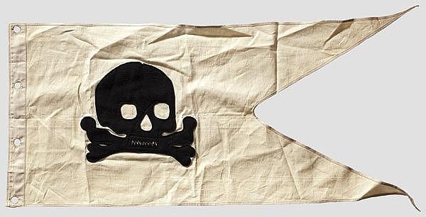 Sold Price: PREUSSEN HUSAREN - Lanzenflagge für Mannschaften/Unteroffiziere  des 2. Leib-Husaren-Regiments - October 5, 0112 11:00 AM CEST