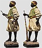 Ein Paar Wiener Bronzen, Österreich um 1900