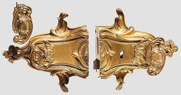 Vergoldetes Rokoko-Schloss, Historismus, im Stil um 1750